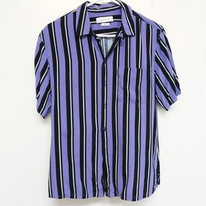 Urban Outfitters Striped Short Sleeves Small